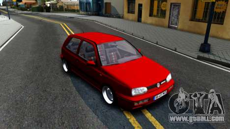 Volkswagen Golf Mk3 1997 for GTA San Andreas left view