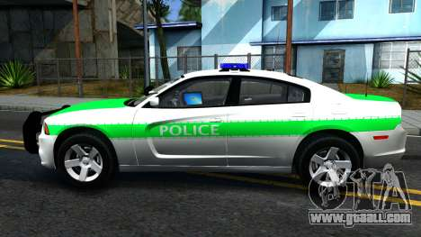 Dodge Charger German Police 2013 for GTA San Andreas left view