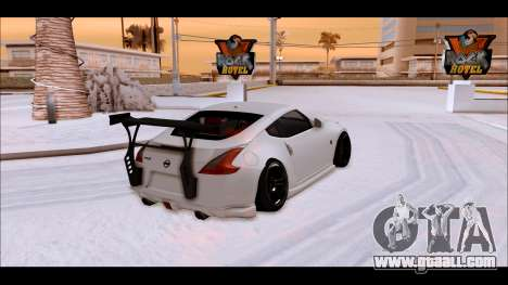 Nissan 370z Drift Edition for GTA San Andreas left view