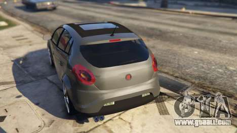GTA 5 Fiat Bravo 2011 rear left side view