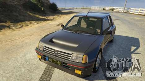 Peugeot 205 Rally for GTA 5