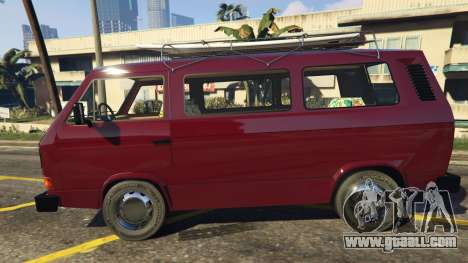 GTA 5 Volkswagen Transporter T3 (1979) left side view