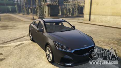 Kia Cadenza 2017 for GTA 5