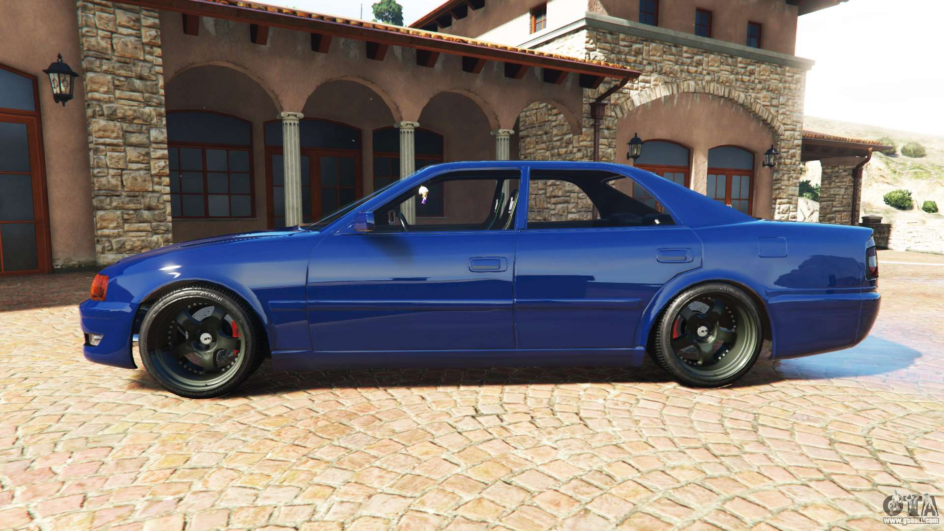 GTA 5 Toyota Chaser JZX100 Cambered V11 Add On