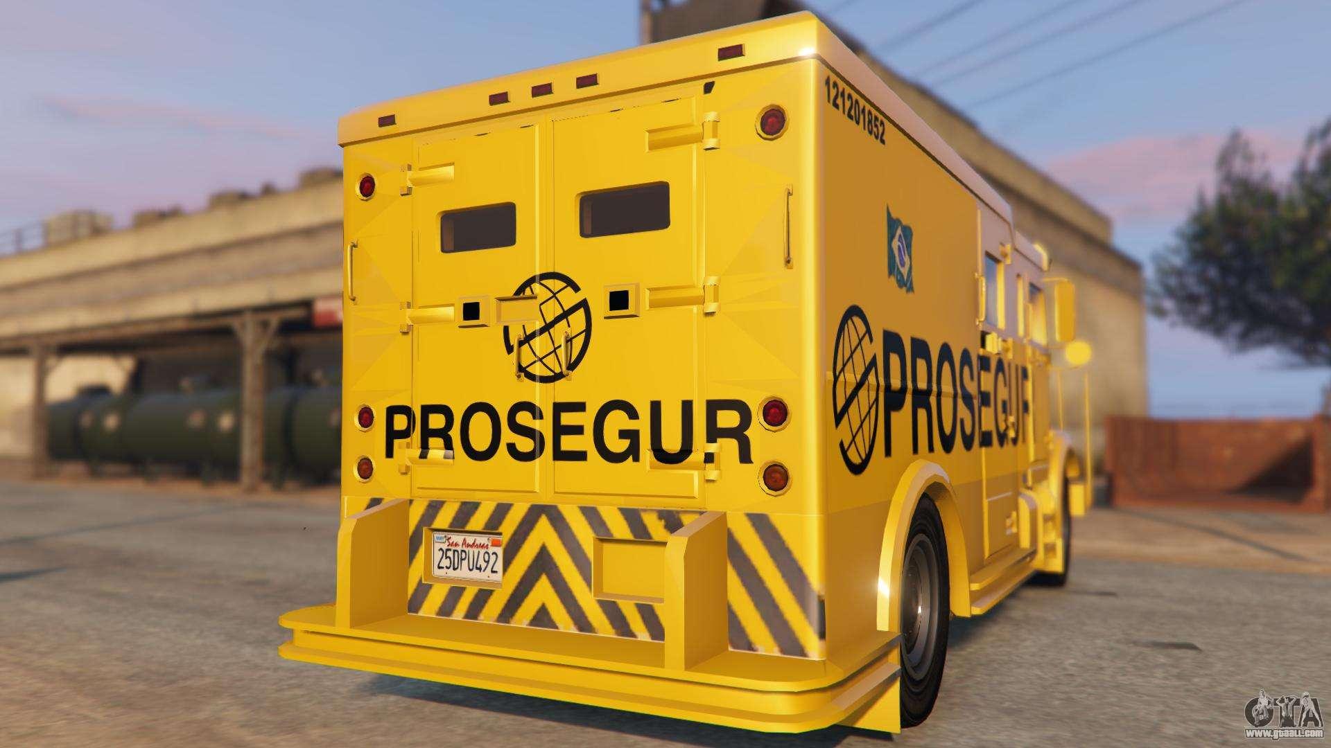 Carro Forte Prosegur Brasil for GTA 5