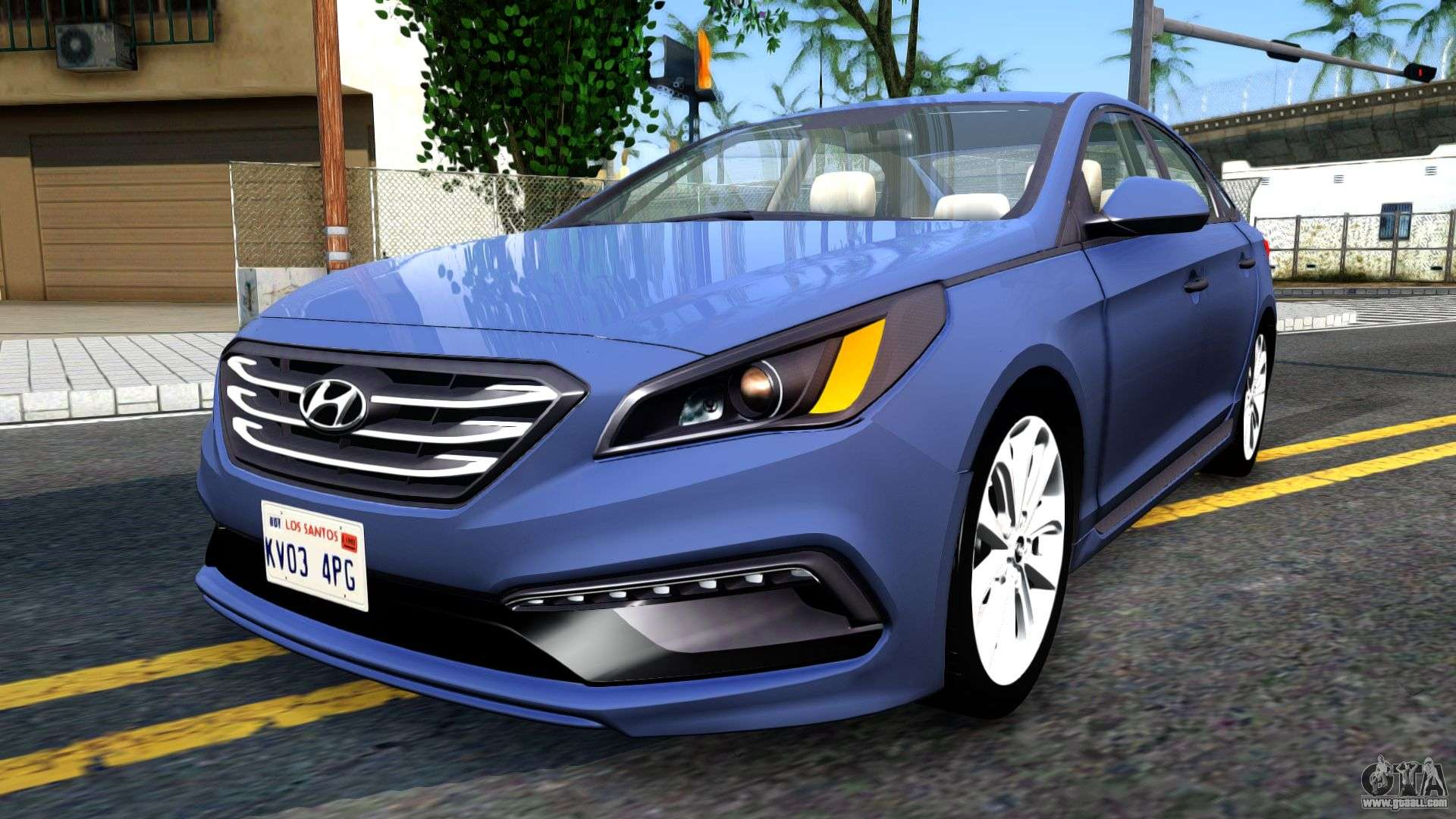 Hyundai Sonata 2016 For Gta San Andreas