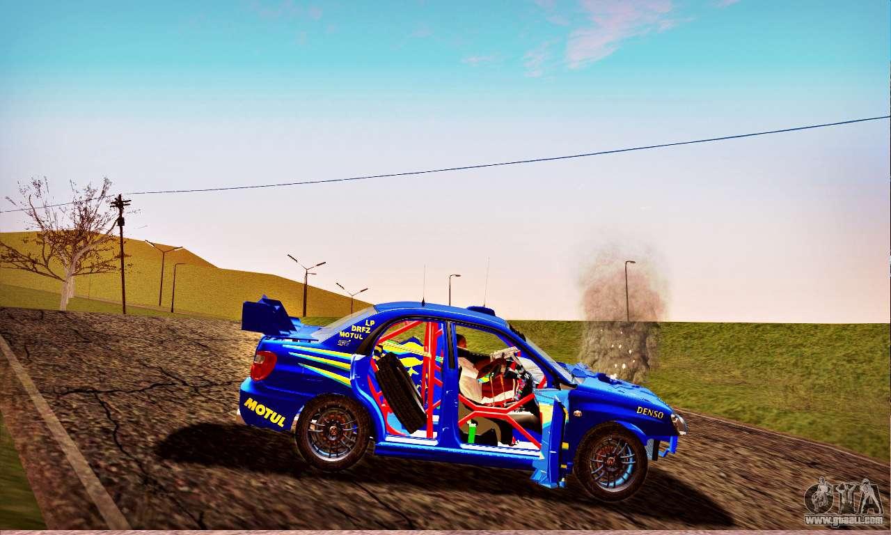 2005 Subaru Wrx Sti Rally Car >> Subaru Impreza WRX STI WRC Rally 2005 for GTA San Andreas