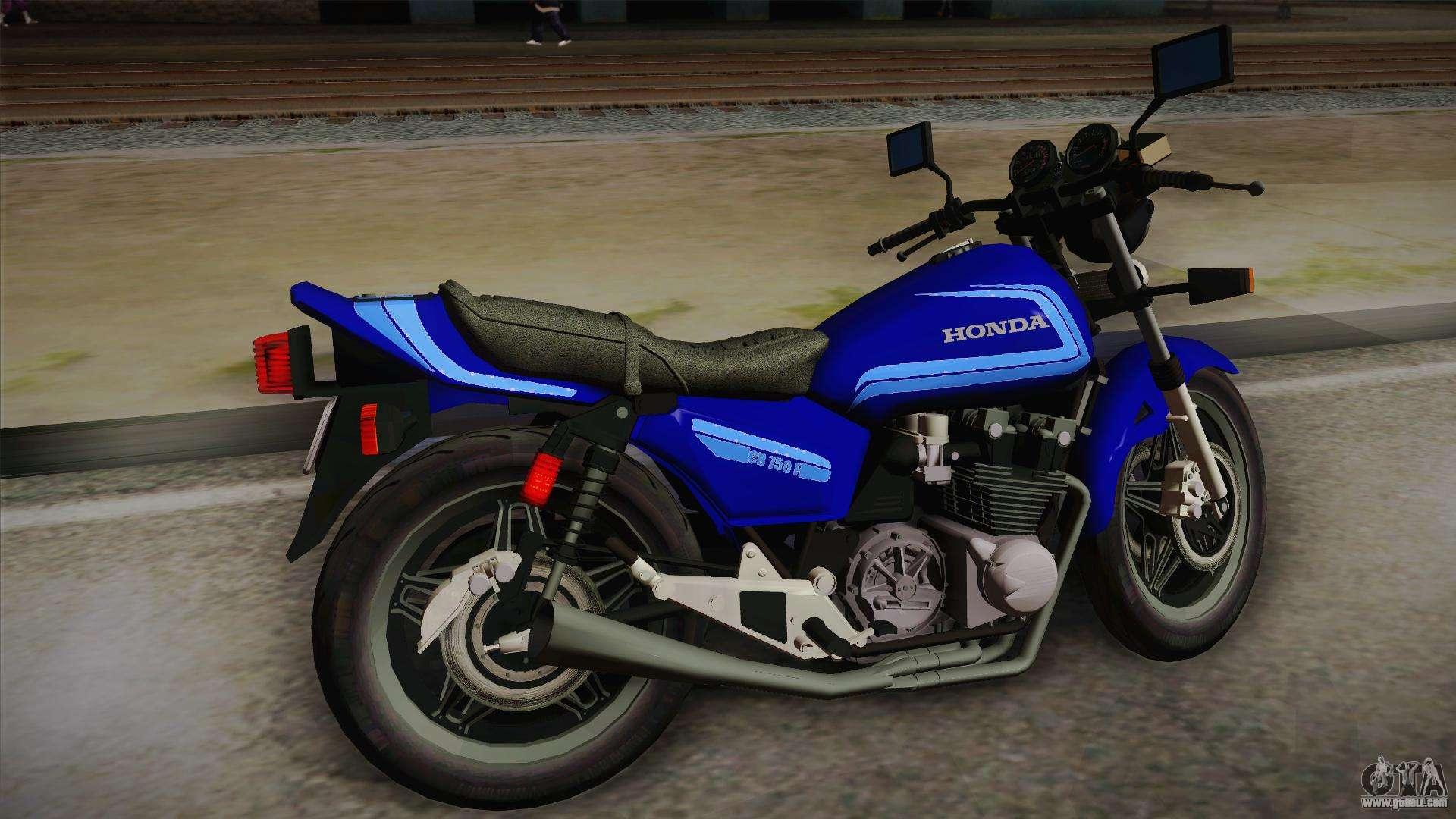 Honda CB750F 1985 for GTA San Andreas