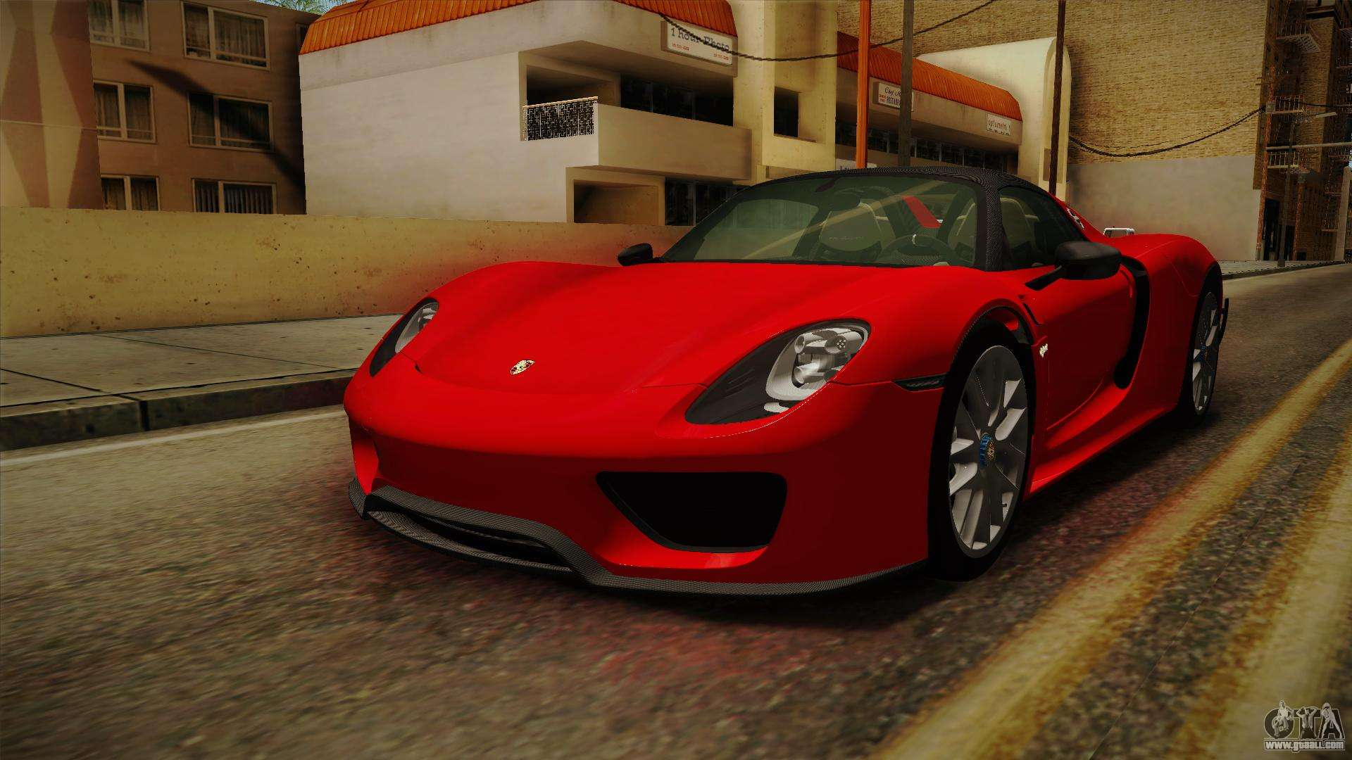 porsche 918 spyder mod gta sa porsche 918 spyder 2013 for gta san andreas porsche 918 spyder. Black Bedroom Furniture Sets. Home Design Ideas