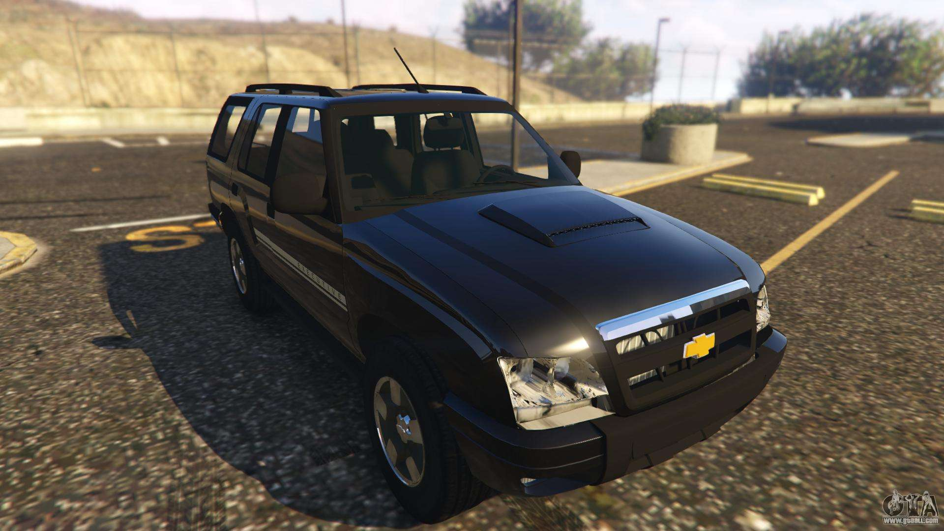 Chevrolet Blazer 4x4 For Gta 5