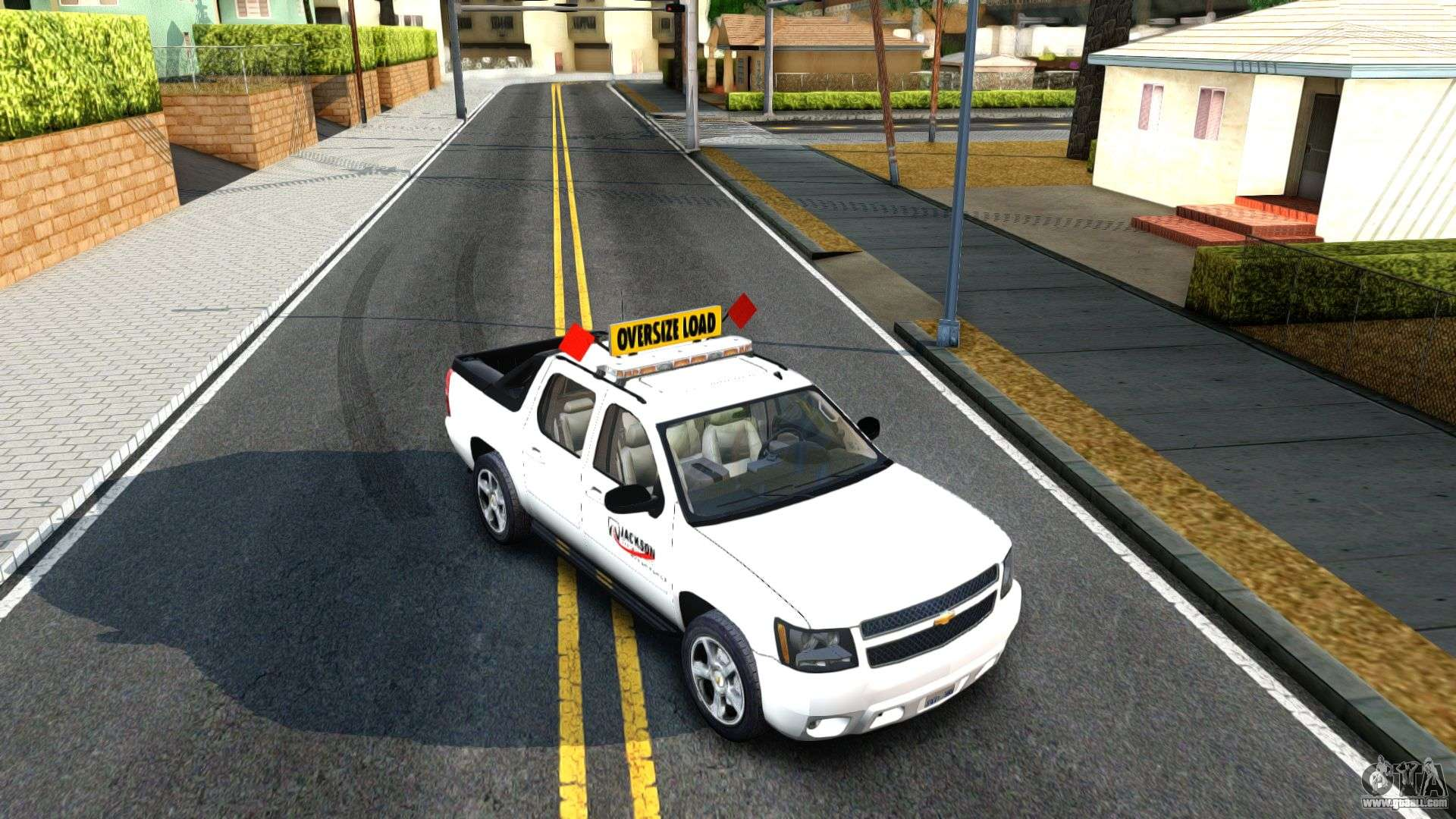 2007 Chevy Avalanche Pilot Car For Gta San Andreas
