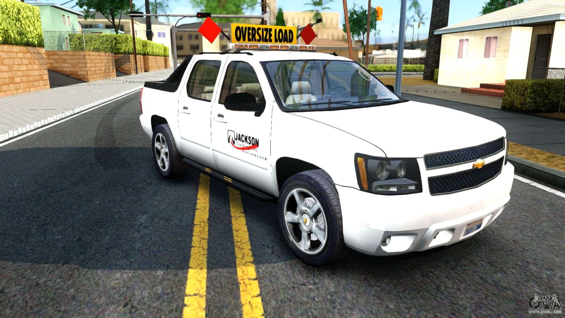 Chevy Avalanche 2016 >> 2007 Chevy Avalanche - Pilot Car for GTA San Andreas
