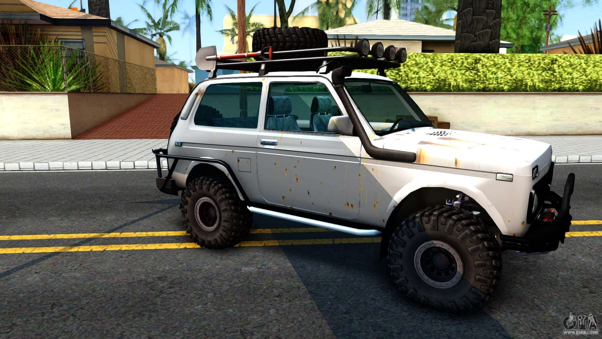 4x4 Off Road >> Lada Niva 4x4 Off Road for GTA San Andreas