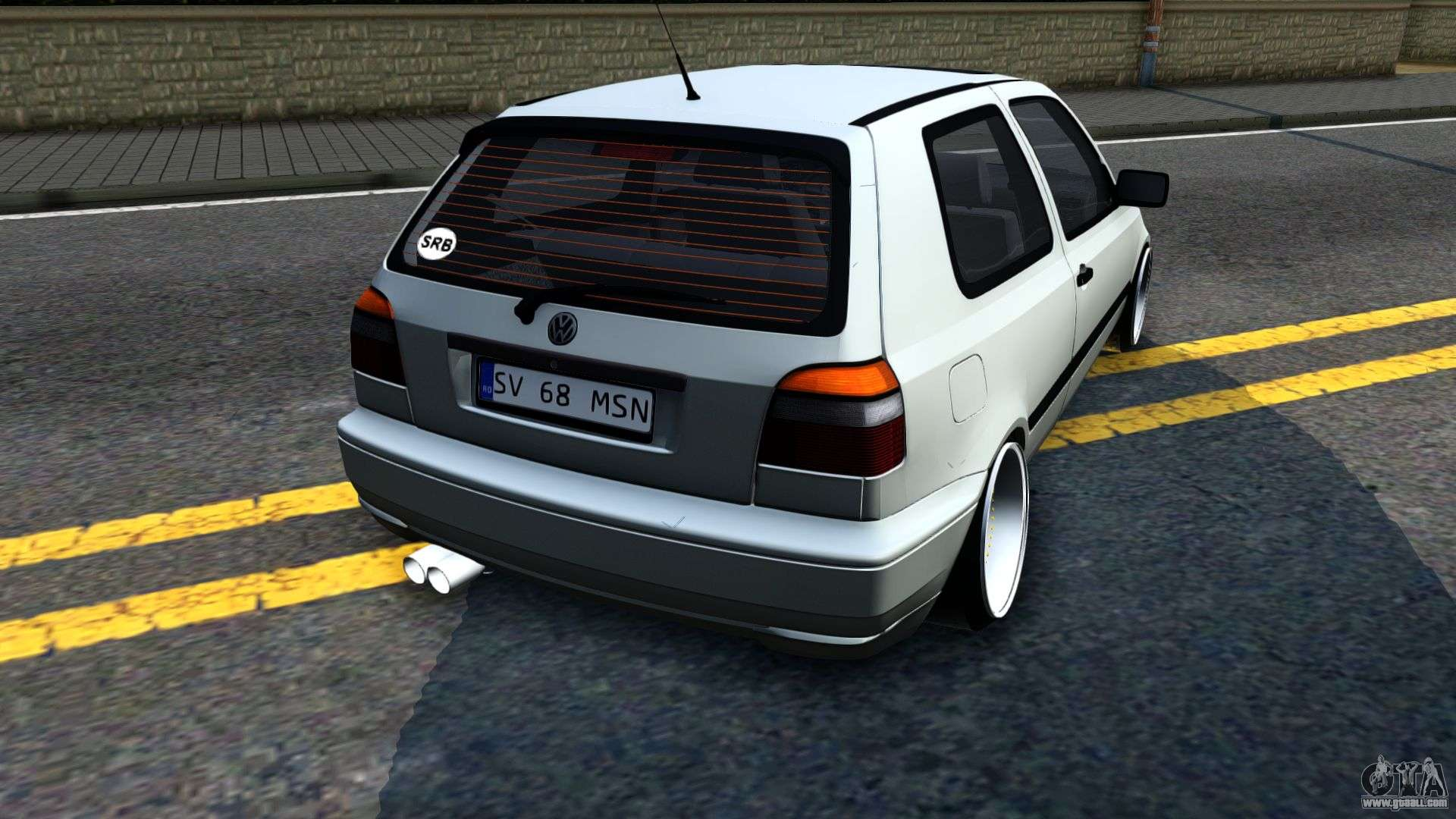 volkswagen golf 3 low for gta san andreas. Black Bedroom Furniture Sets. Home Design Ideas