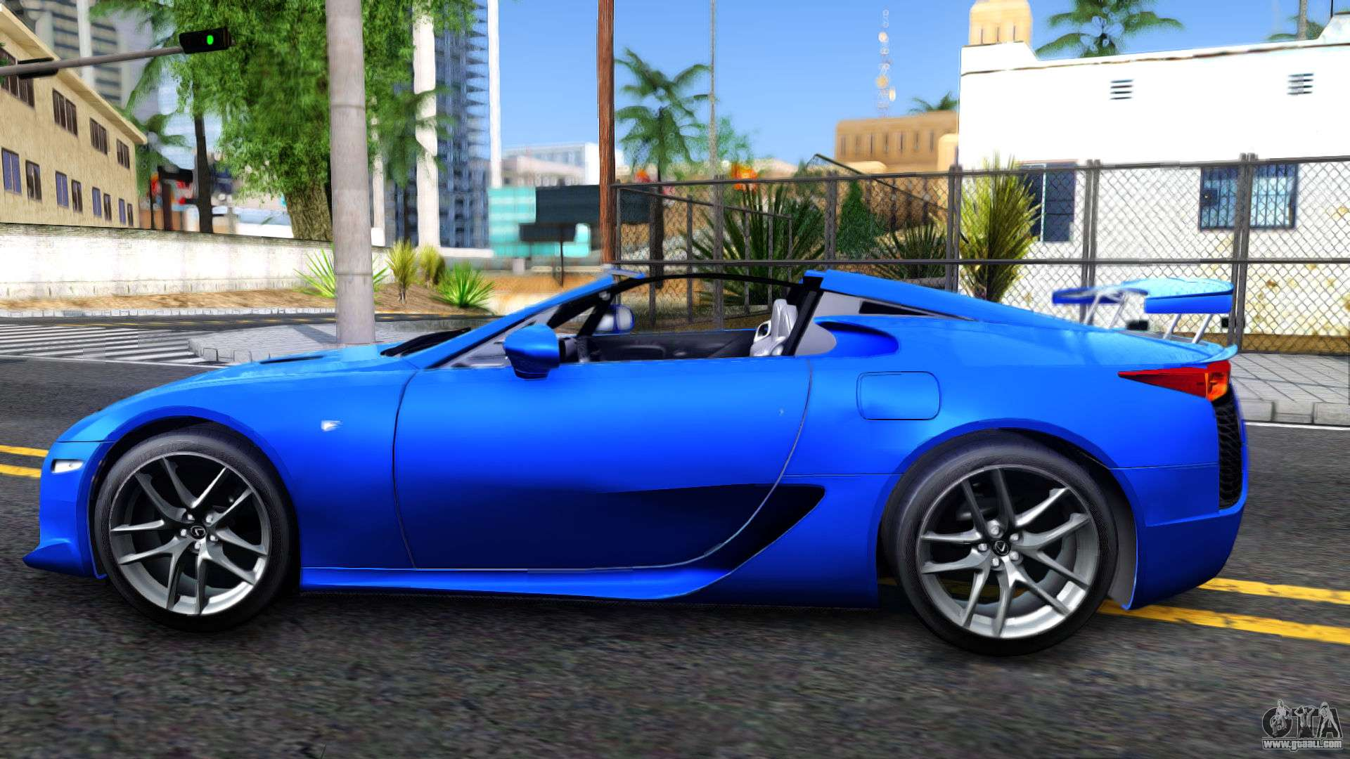 lexus lfa for gta san andreas. Black Bedroom Furniture Sets. Home Design Ideas