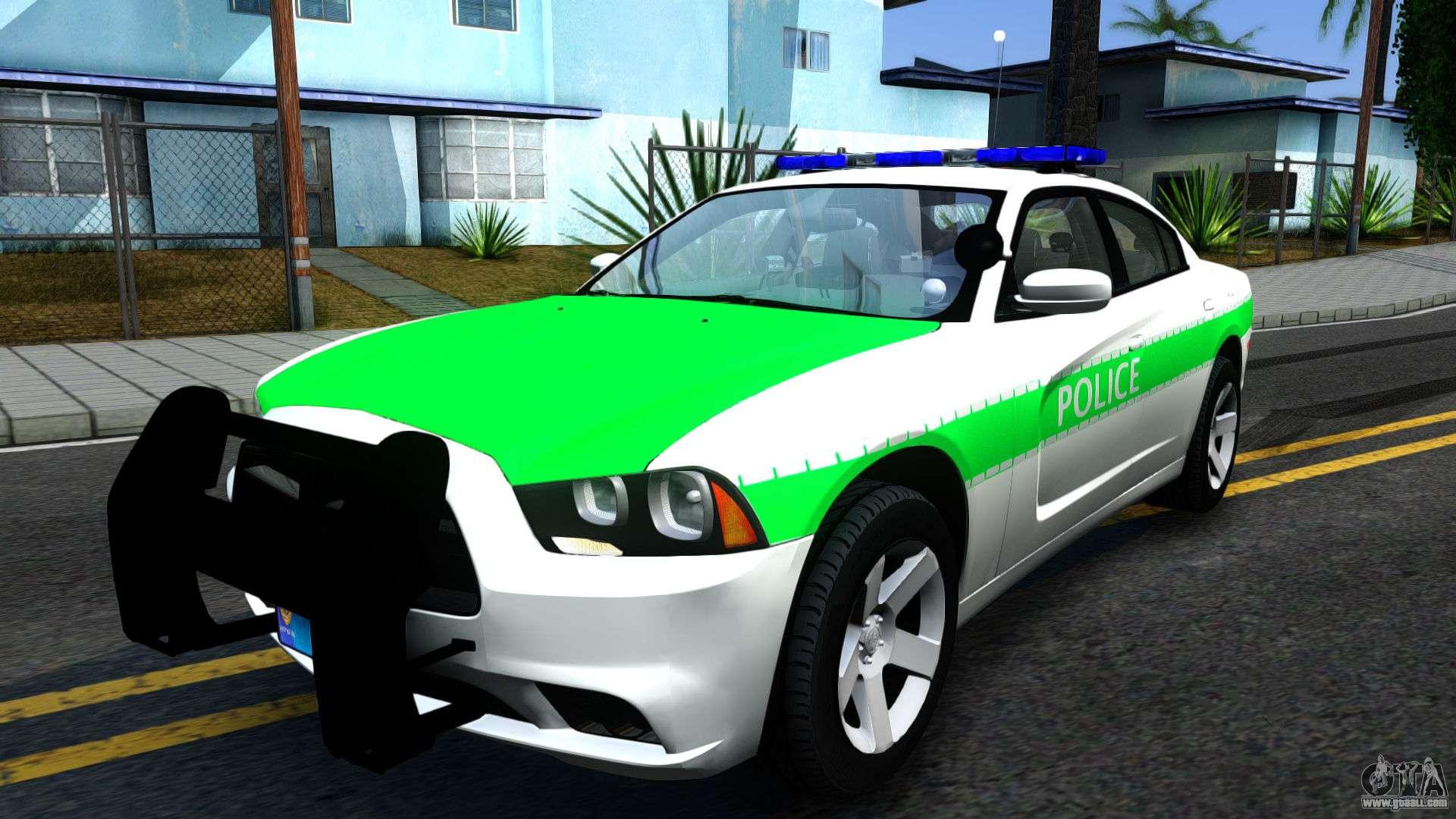 dodge charger german police 2013 for gta san andreas. Black Bedroom Furniture Sets. Home Design Ideas