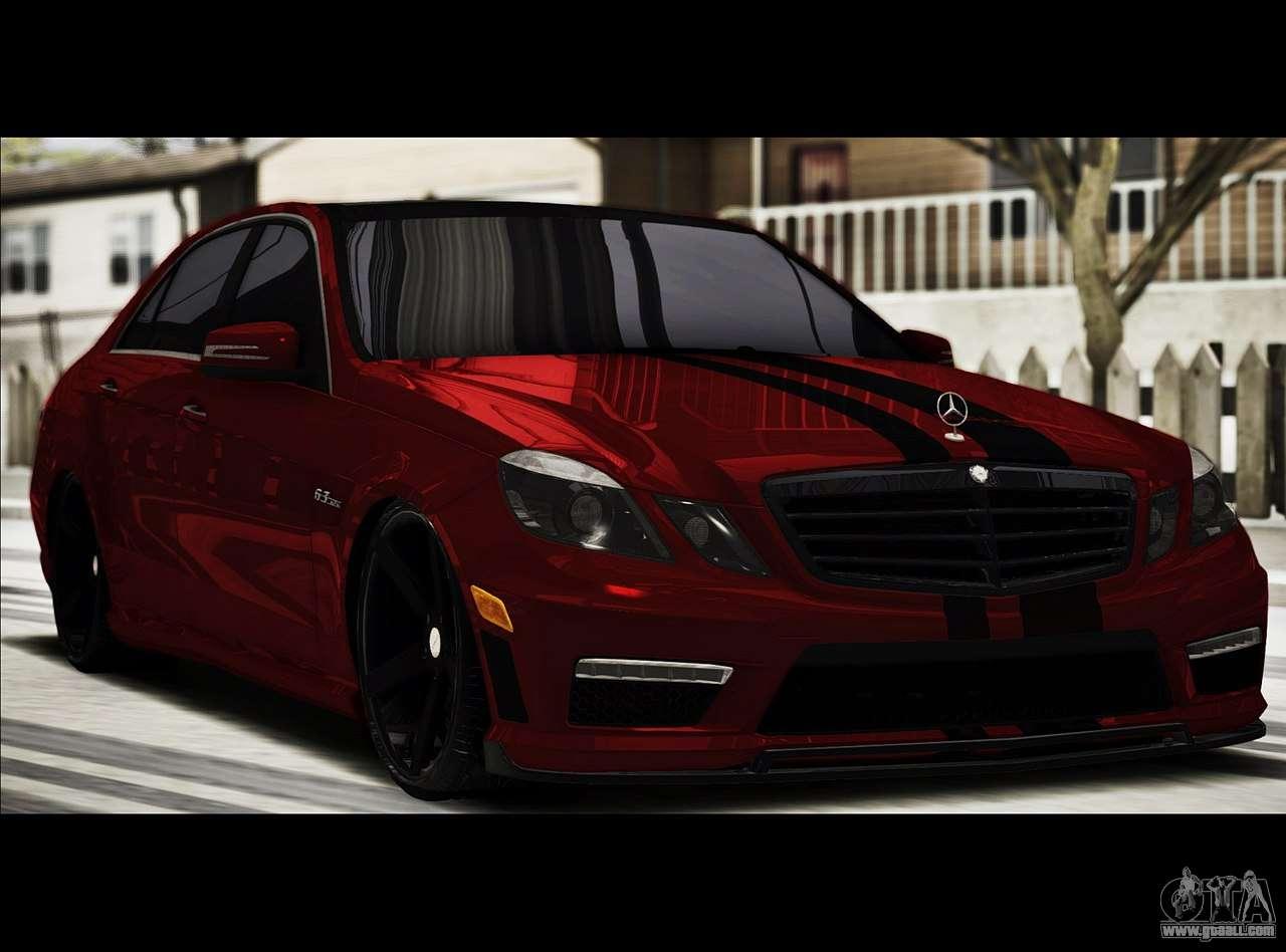 Mercedes benz e63 w212 amg 2010 for gta san andreas for Mercedes benz e63 2010
