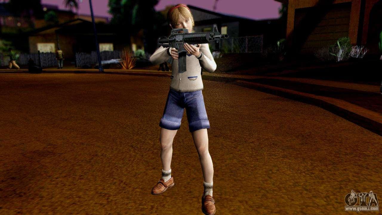 Sherry Birkin v1 for GTA San Andreas