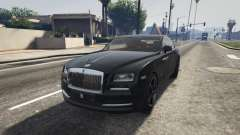 Rolls-Royce Wraith 2015 for GTA 5