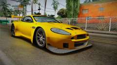 Aston Martin Racing DBRS9 GT3 2006 v1.0.6 Dirt for GTA San Andreas