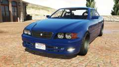 Toyota Chaser (JZX100) cambered v1.1 [add-on] for GTA 5