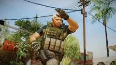 Resident Evil 6 - Chris Asia Bsaa for GTA San Andreas
