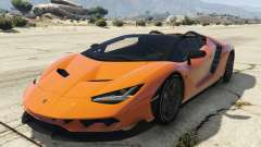Lamborghini Centenario LP 770-4 Roadster for GTA 5