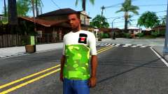 Design Camouflage T-Shirt for GTA San Andreas