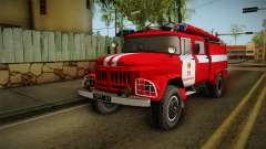 The Amur ZIL 131 Fire Truck for GTA San Andreas
