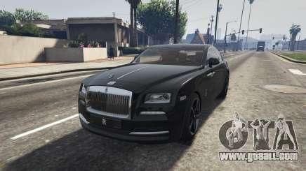 Rolls-Royce Wraith 2015 for GTA 5