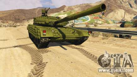 Tank T-72 for GTA 5