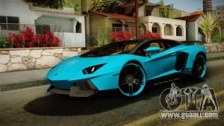 Lamborghini Aventador Itasha Rias Gremory for GTA San Andreas