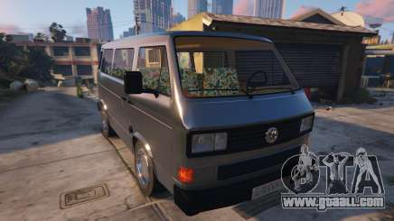 Volkswagen Caravelle T3 (1983) for GTA 5