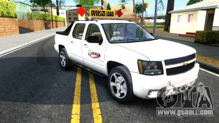 2007 Chevy Avalanche - Pilot Car for GTA San Andreas