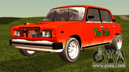 VAZ 2105 patch 4.0 for GTA San Andreas