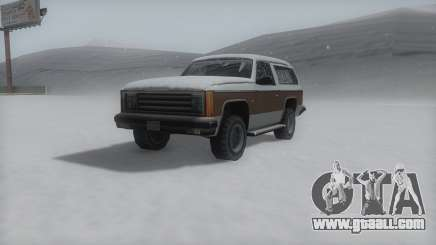 Rancher Winter IVF for GTA San Andreas
