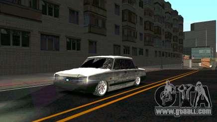 2107 Classic 2 Winter edition for GTA San Andreas