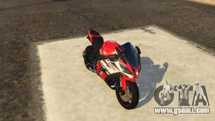 Kawasaki ZX6R Drag for GTA 5