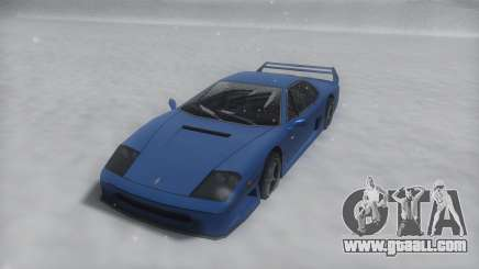 Turismo Winter IVF for GTA San Andreas