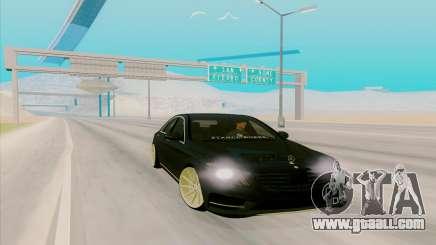 Mercedes Benz S63 for GTA San Andreas