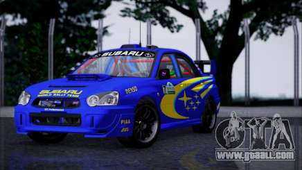 Subaru Impreza WRX STI WRC Rally 2005 for GTA San Andreas