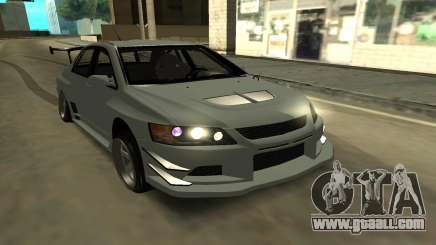 Mitsubishi Lancer Evo9 for GTA San Andreas