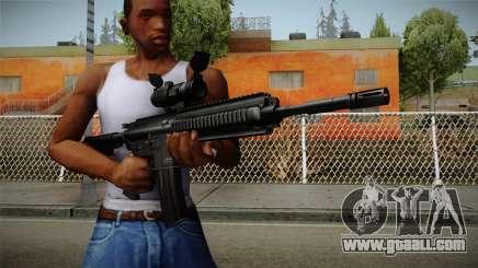 HK416 v2 for GTA San Andreas