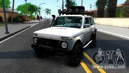 Lada Niva 4x4 Off Road for GTA San Andreas