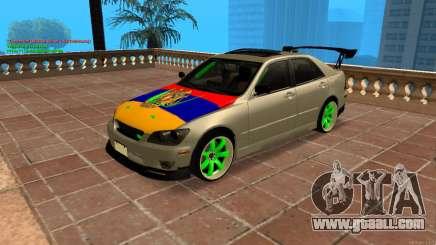Toyota Altezza Armenian for GTA San Andreas