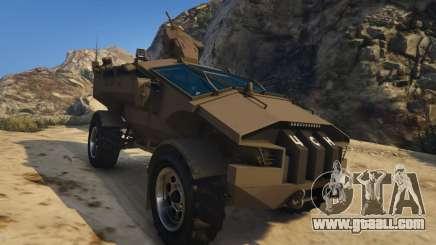 Punisher Khaki Armed Version for GTA 5