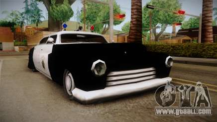 Hermes Classic Police Las Venturas for GTA San Andreas