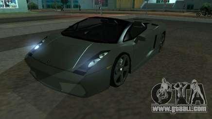 Lamborghini Galardo Spider for GTA San Andreas