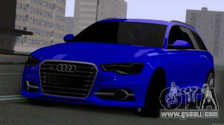 AUDI RS6 2014 for GTA San Andreas