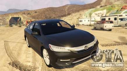 Honda Accord 2017 for GTA 5